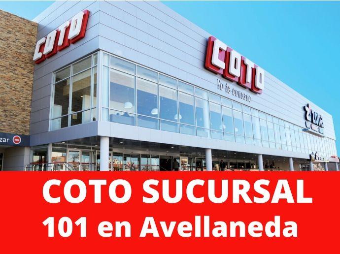 COTO Sucursal 101 Avellaneda Supermercado Zona Sur