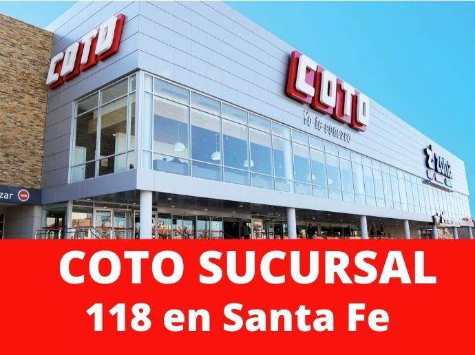 COTO Sucursal 118 Santa Fe Supermercado Santa Fe