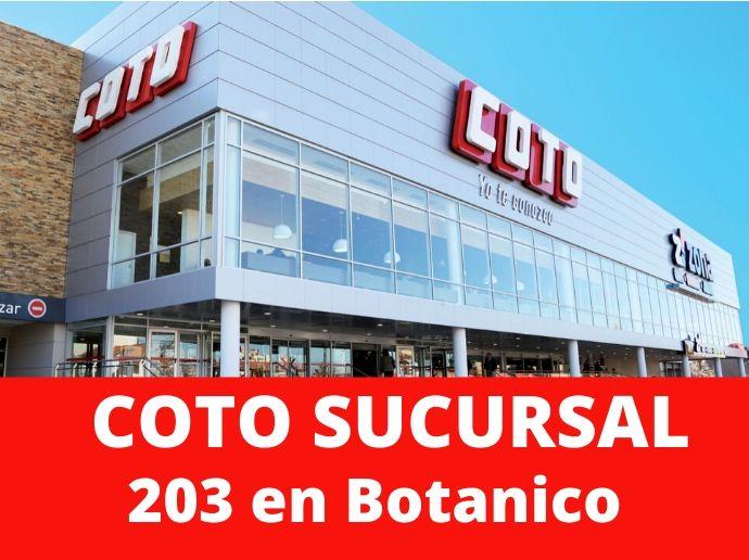 COTO Sucursal 203 Botanico Hipermercado Capital Federal