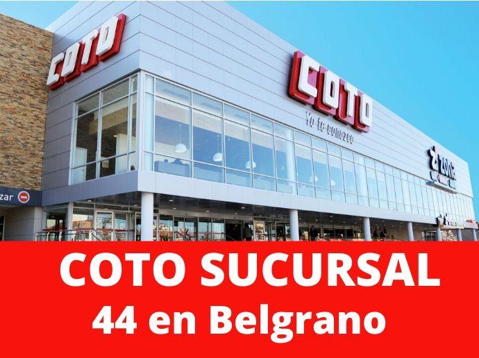 COTO Sucursal 44 Belgrano Supermercado Capital Federal
