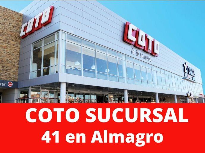 COTO Sucursal 41 Almagro Supermercado Capital Federal