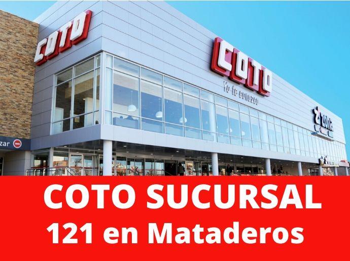 COTO Sucursal 121 Mataderos Supermercado Capital Federal