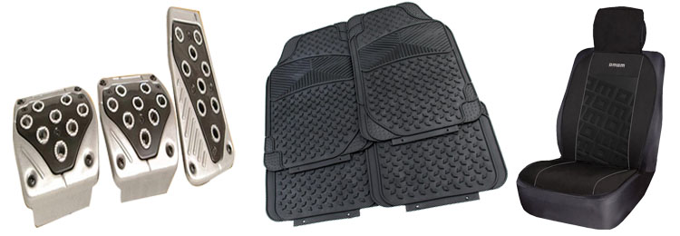 Coto accesorios para auto alfombras