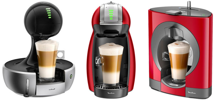 cafeteras Coto MOULINEX (Ex Dolce Gusto)