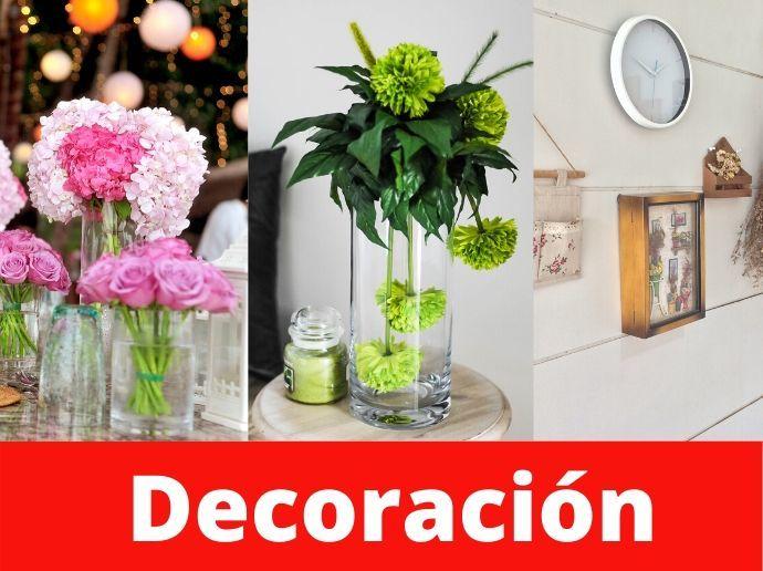Artículos para decoración en COTO Digital
