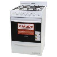 Cocina Eskabe 4 Hornallas Blanco C2 Bc