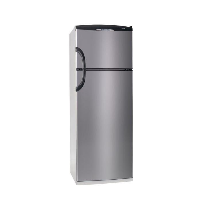 Heladera COTO Con Freezer Columbia 317 L. Htp 2334 Plata Heladeras Con Freezer