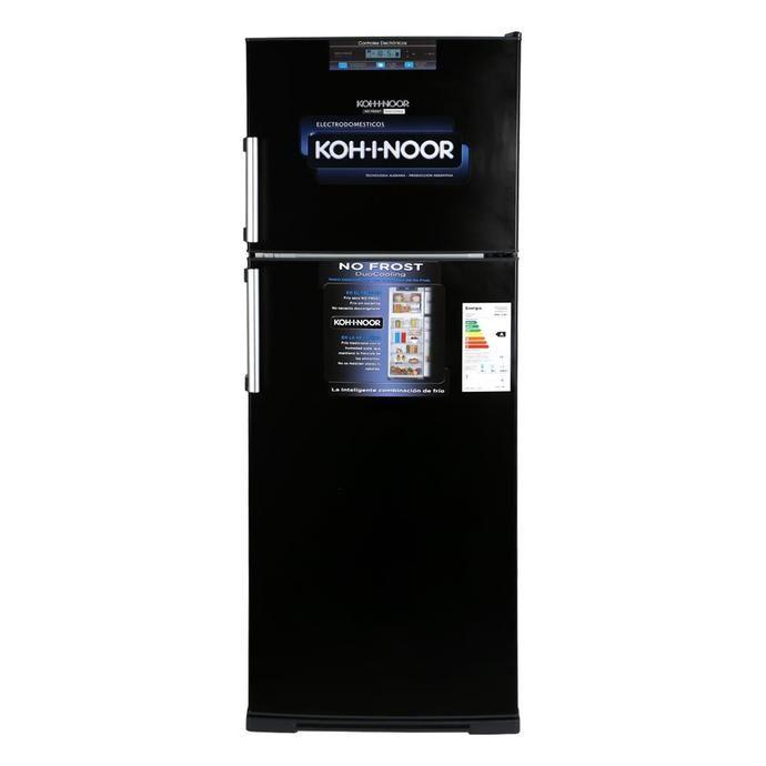 Heladera COTO Con Freezer Koh-i-noor 413 L Kdbn4194/7 Negro Heladeras Con Freezer