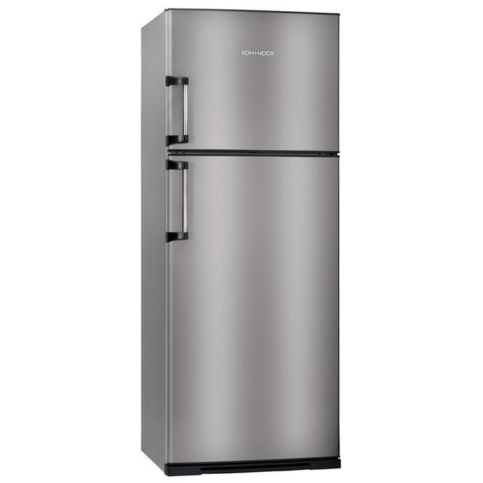 Heladera COTO Con Freezer Koh-i-noor 416 L. Kda4394 Acero Heladeras Con Freezer