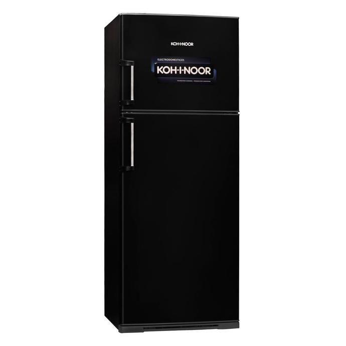 Heladera COTO Con Freezer Koh-i-noor 416 L. Kda4394   Negro Heladeras Con Freezer