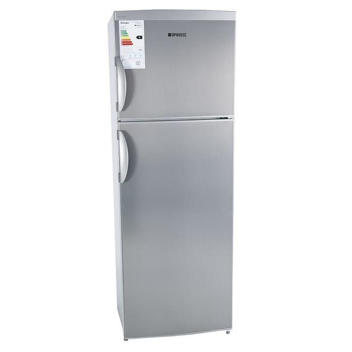 Heladera COTO Con Freezer Top House 314 L. D60350 Inoxidable Heladeras Con Freezer