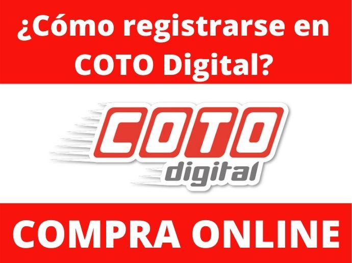 cómo me registro en COTO Digital
