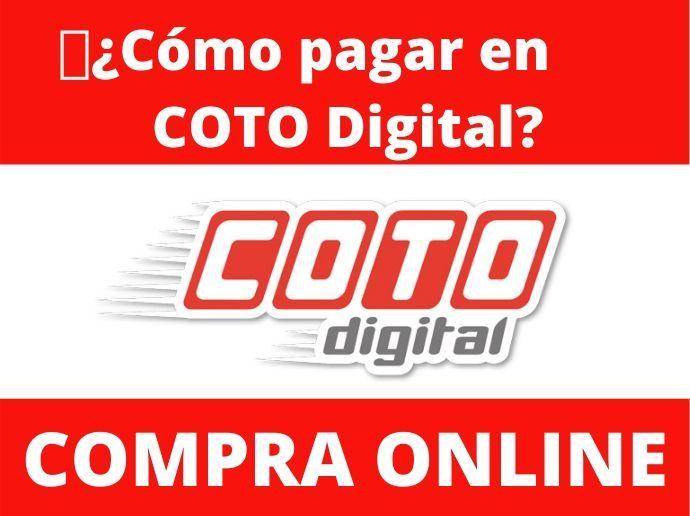 Cómo pagar en COTO Digital