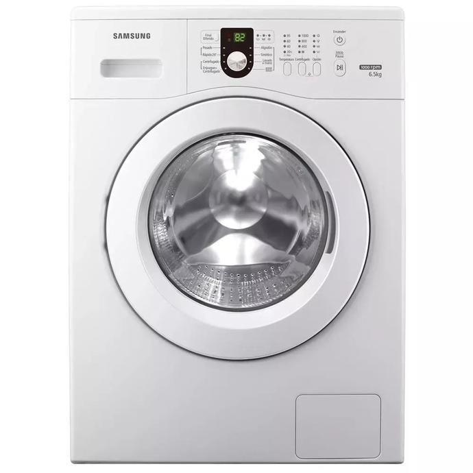 Lavarropas Automático COTO Samsung Carga Frontal 6.5 Kg Ww65m0nhwu Blanco