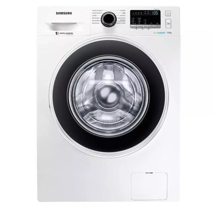 Lavarropas Automático COTO Samsung Carga Frontal 7 Kg Ww70j4463gw Blanco