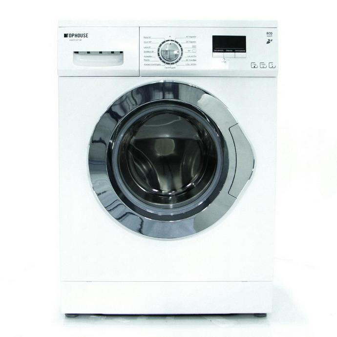Lavarropas Automático COTO Top House Carga Frontal 7 Kg Xqg70-q712e Blanco