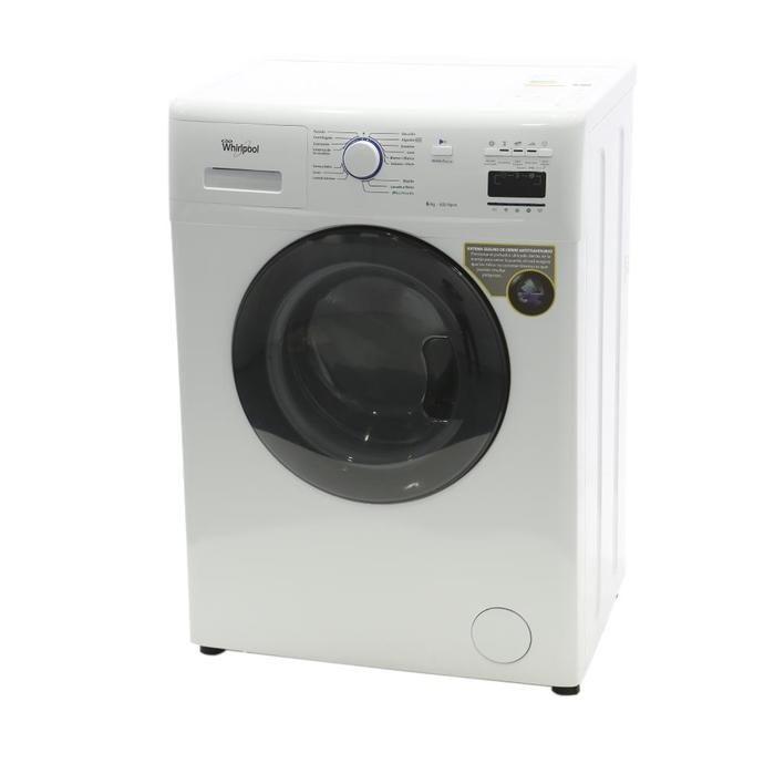 Lavarropas Automático COTO Whirlpool Carga Frontal 6 Kg Wnq65-66a Blanco