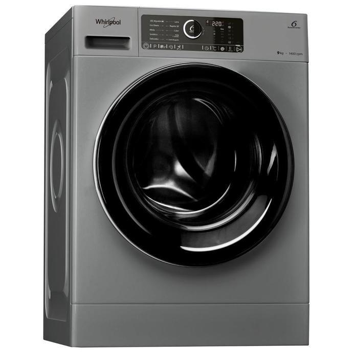 Lavarropas Automático COTO Whirlpool Carga Frontal 9 Kg Wlcf90s Silver