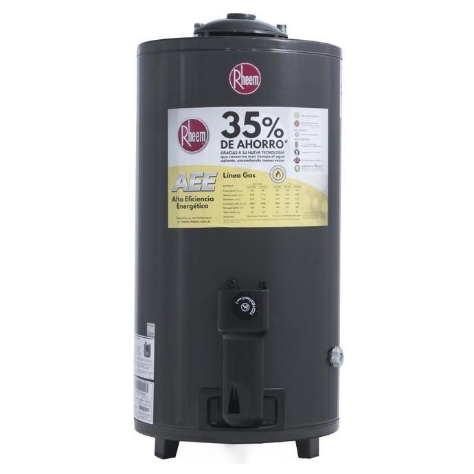 Termotanque COTO A Gas RHEEM 80 L Tgnp080rh