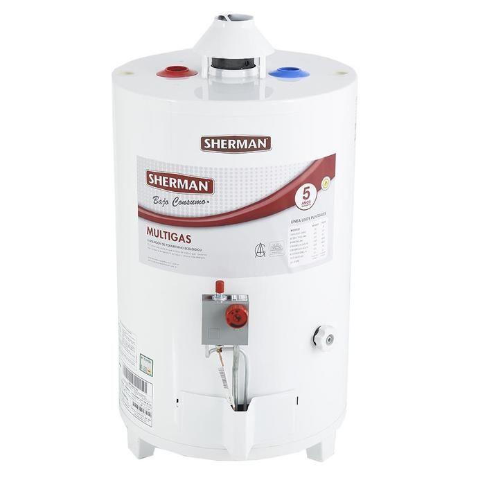 Termotanque COTO A Gas SHERMAN 50 L Tep050 Multigas