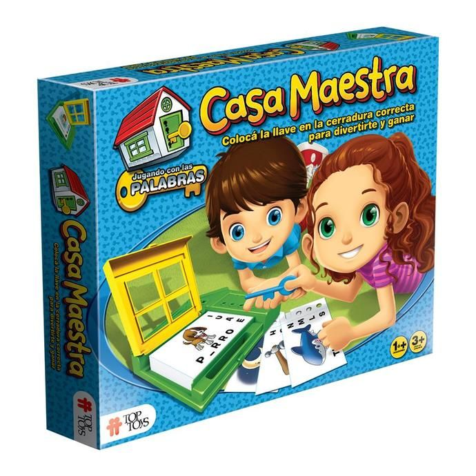 Juego Casa Maestra 1ras Palabras en COTO