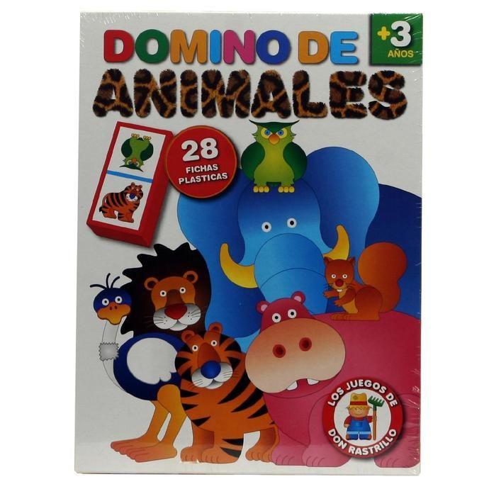 Juego De Mesa Domino De Animales en COTO