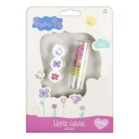 Peppa Pig Carton Labial Con Stickers