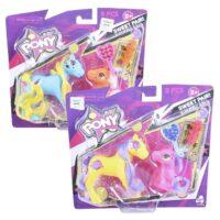 Pony Con Accesorios Surtidos