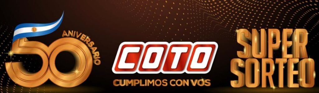 COTO SORTEO - ANIVERSARIO